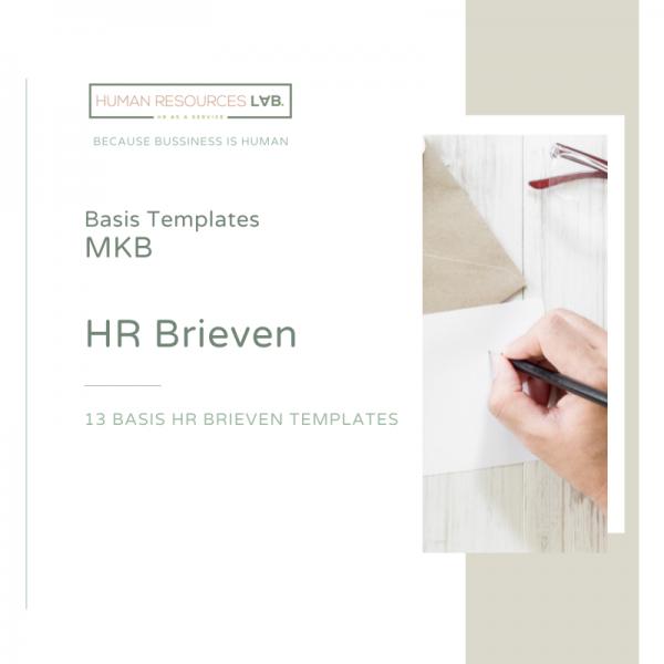 Basis MKB Templates: HR Brieven
