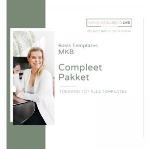 MKB Basis Templates: Compleet Pakket